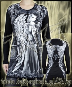 Tunika / longsleeve DARK ANGEL 2 all print