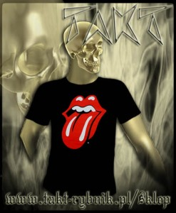 "Koszulka THE ROLLING STONES ""Classic Tongue"" imp."