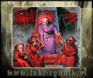 "Naklejka DEATH ""Scream Bloody Gore"""