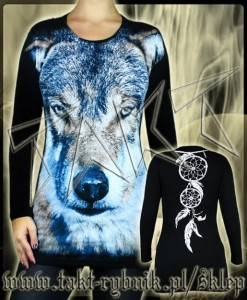 Tunika / longsleeve WINTER WOLF all print