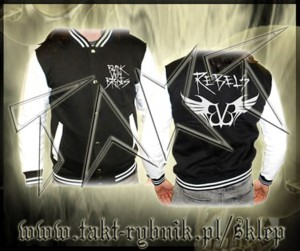 "Bluza baseball BLACK VEIL BRIDES ""Rebel""imp."