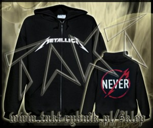 "Bluza na zamek METALLICA ""Through The Never"" imp."