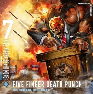 "Płyta CD FIVE FINGER DEATH PUNCH ""And Justice For None"" - 2018'"