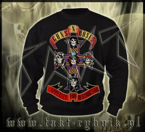 "Bluza prosta GUNS'n'ROSES ""Appetite For Destruction"" imp."