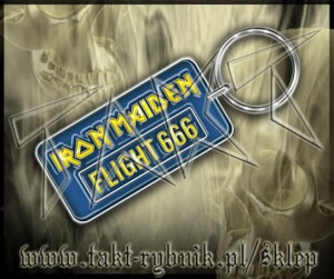 "Brelok IRON MAIDEN ""Flight 666"""