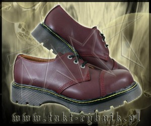 Glany 3 STEADY'S full bordo - bordowe - M-REX kopia Martensa