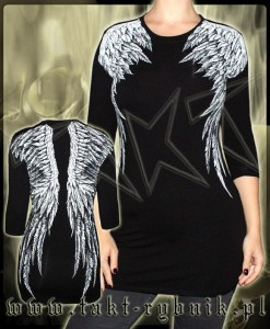 Tunika / longsleeve 3/4 WINGS all print