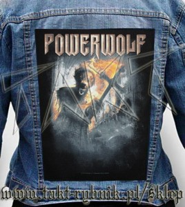 "Ekran na kurtkę POWERWOLF ""Preachers Of The Night"""