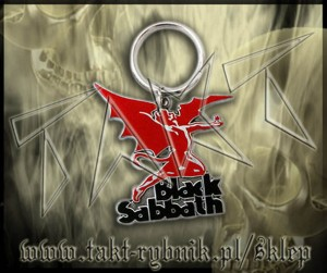 "Brelok BLACK SABBATH ""Daemon"""