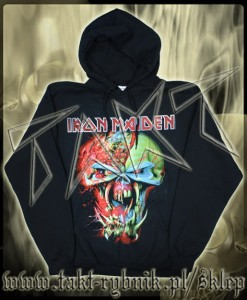 "Bluza kangurek IRON MAIDEN ""Final Frontier - Head"" imp."