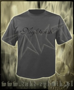 "Koszulka NIGHTWISH ""Logo"" GREY imp."