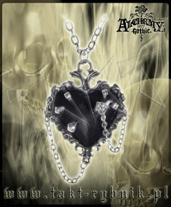 Wisiorek Alchemy WITCH HEART
