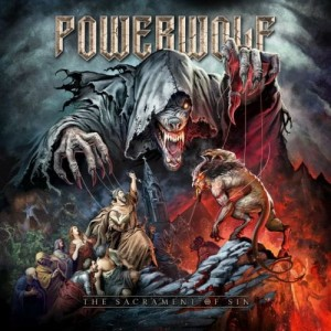 "Płyta CD POWERWOLF ""The Sacrament of SIn"" - 2018'"