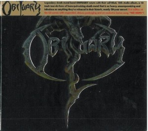 "Płyta CD OBITUARY ""Obituary"" DIGIPACK - 2017'"