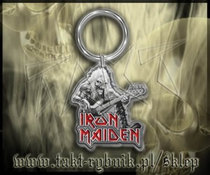 "Brelok IRON MAIDEN ""Fear Of The Dark"""