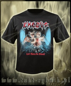 "Koszulka EXODUS ""Let There Be Blood"" imp."