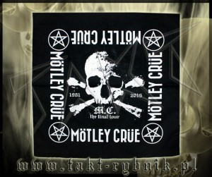 "Bandamka MOTLEY CRUE ""The Final Tour"""