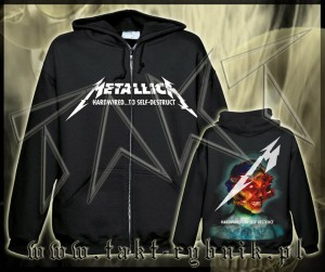 "Bluza na zamek METALLICA ""Hardwired... To Self-Destruct"" imp."