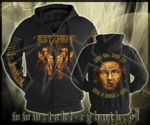 "Bluza na zamek TESTAMENT ""The Gathering"" imp. ALL PRINT"