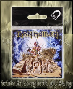 "Magnes IRON MAIDEN ""Somewhere Back In Time"""