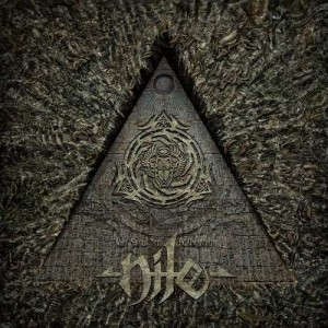 "Płyta CD NILE ""What Should Not Be Unearthed"" - 2015'"