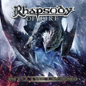 "Płyta CD RHAPSODY OF FIRE ""Into The Legend"" - 2016'"