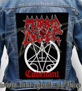 "Ekran na kurtkę MORBID ANGEL ""Covenant"""