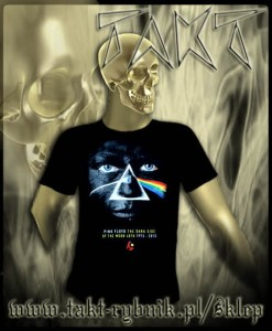 "Koszulka PINK FLOYD ""The Dark Side Of The Moon"" 5 face imp."