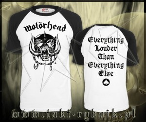 "Koszulka MOTORHEAD ""Everything Louder Than Everything Else"" WHITE imp."