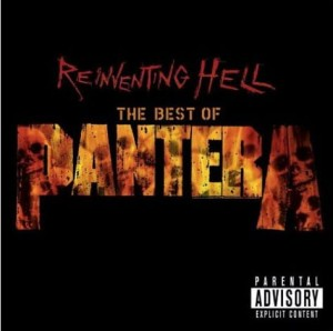 "Płyta CD+DVD PANTERA ""Reinventing The Hell. The Best Of"" - 2003'"