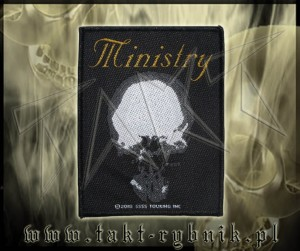 "Naszywka MINISTRY ""The Mind is a Terrible Thing to Taste"""