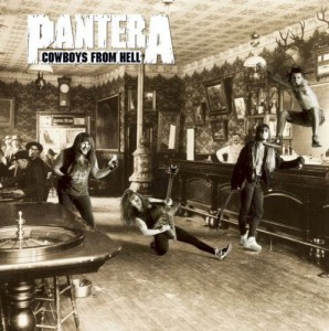 "Płyta CD PANTERA ""Cowboys From Hell"" - 2010'"