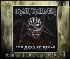 "Naszywka IRON MAIDEN ""The Book Of Souls"""