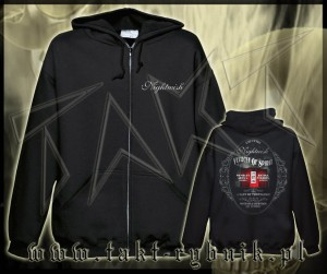 "Bluza na zamek NIGHTWISH ""Vehicle Of Spirit"" imp."