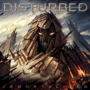"Płyta CD DISTURBED ""Immortalized"" - 2015'"