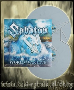 "Płyta winylowa SABATON ""World War Tour Live"" LIMITED EDITION"