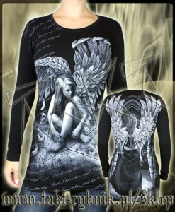 Tunika / longsleeve DARK ANGEL 3 all print