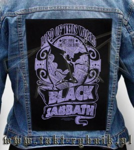 "Ekran na kurtkę BLACK SABBATH ""Lord Of This World"""