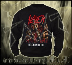 "Bluza prosta SLAYER ""Reign In Blood"" imp."