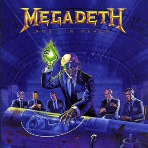 "Płyta CD MEGADETH ""Rust In Peace"" - 1990'"