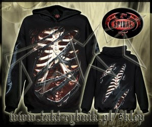 Bluza kangurek DEVIL MARK imp. ALL PRINT