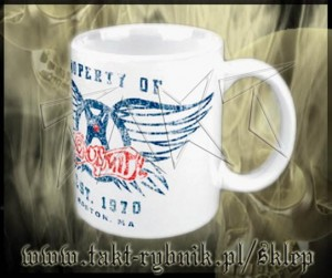 "Kubek AEROSMITH ""Property Of ..."""