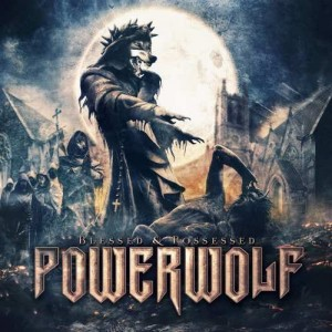 "Płyta CD POWERWOLF ""Blessed & Possessed"" - 2015'"