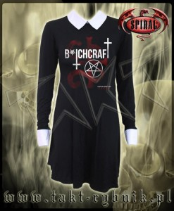 Sukienka BITCHCRAFT collar baby doll