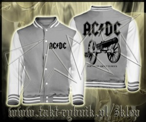 "Bluza baseball AC/DC ""For Those About To Rock"" imp."