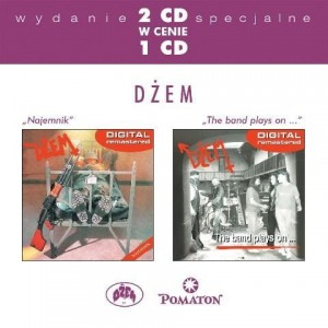 "Płyta 2CD DŻEM ""Najemnik / The band plays on ..."" - 2003'"
