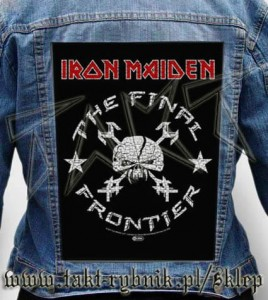 "Ekran na kurtkę IRON MAIDEN ""The Final Frontier"""