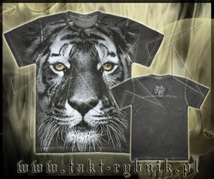 Koszulka TIGER 02 all print GREY
