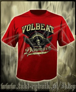 "Koszulka VOLBEAT ""Rise From Denmark"" imp. RED"