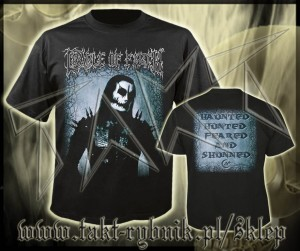"Koszulka CRADLE OF FILTH ""Haunted Hunted Feared And Shunned"" imp."